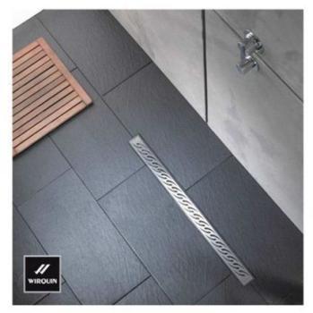 Wirquin siphon de douche carreler 130 x 130 mm sorti for Caniveau de douche wirquin