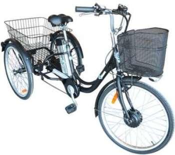Vélo électrique 3 roues tricycle