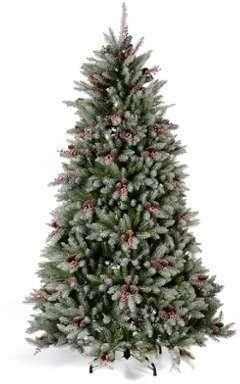 Sapin de Noël 240 cm neige