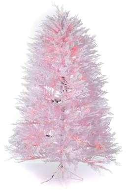 Sapin Noël enneigé blanc 210