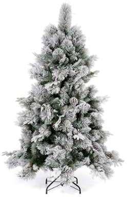 Sapin de Noël 180 cm enneigé