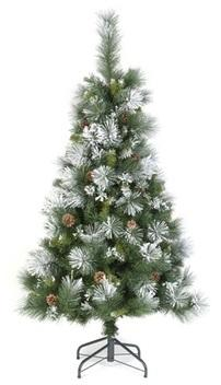 Sapin de Noël artificiel Floqué