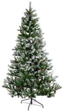 Sapin de Noël 210 cm flocons