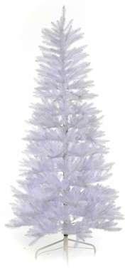 Sapin Noël 225 cm Slim blanc