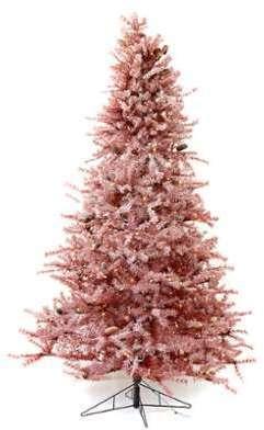 Sapin de Noël 230 cm bordeaux