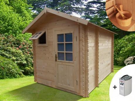 Sauna d extérieur 3 4 places