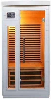 Sauna infrarouge Blanc émetteur