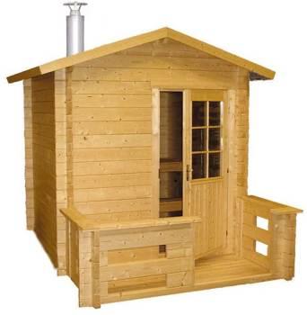 Sauna Kuikka avec poêle à