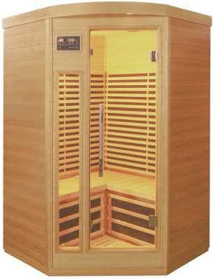 Sauna d angle infrarouge panneaux