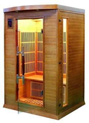 Sauna Infrarouge Soleil rouge