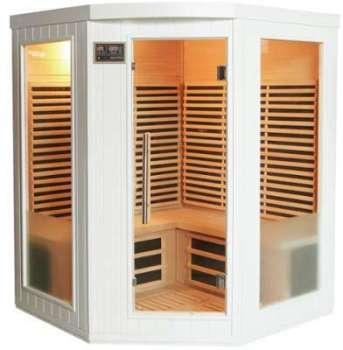Sauna d angle infrarouge émetteurs