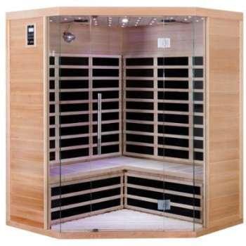 Sauna d angle infrarouge 3