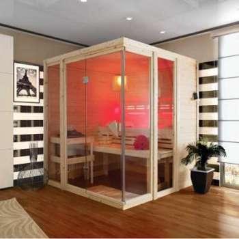 Sauna traditionnel d intérieur
