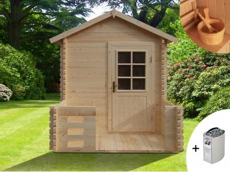 Sauna d extérieur 2 3 places