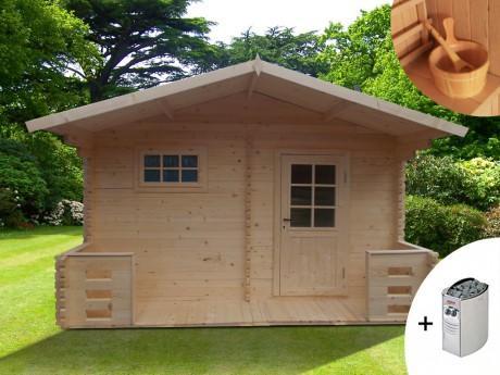Sauna d extérieur 4 5 places