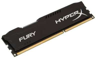 HYPERX FURY Black Low Voltage