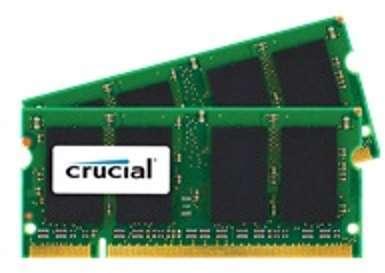 4GB (2GBX2) DDR2-800 CL6 SODIMMMEM