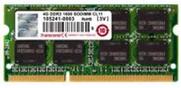 Mémoire capacité 4 Go SO DIMM