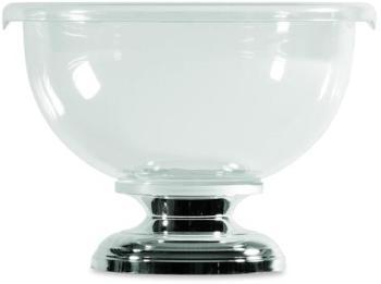 Vasque à champagne transparente