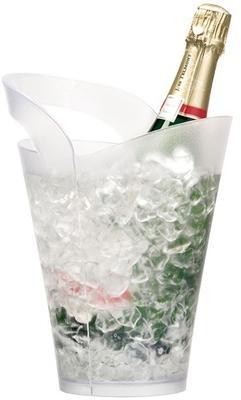 Seau à champagne plexi givré
