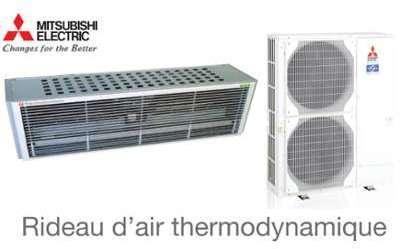Mitsubishi Rideaux d air chaud