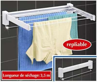 Sèche-linge repliable de salle