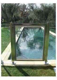 Portillon piscine pour barrières
