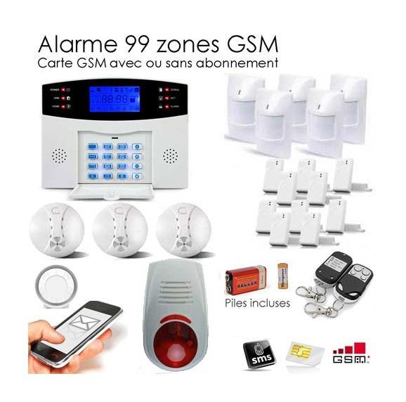 Recherche detecteurs du guide et comparateur d 39 achat for Alarme maison securite good deal