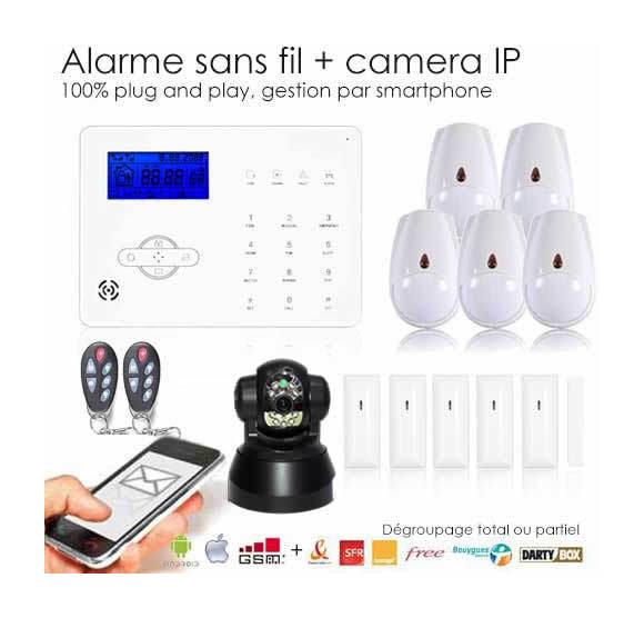 alarme maison sans fil camera kit alarme maison sans fil avec camera uniek alarmes maison kit. Black Bedroom Furniture Sets. Home Design Ideas