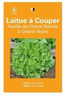 Cat gorie semence page 1 du guide et comparateur d 39 achat - Laitue a couper feuille de chene blonde ...