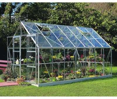 Serre de jardin 11 5m en verre