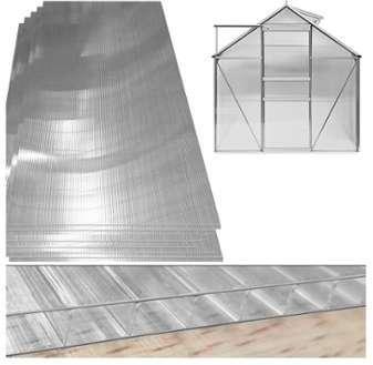 10 25 m Plaque de polycarbonate