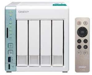 NAS QNAP série 451A-2G - capacité