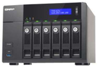 NAS QNAP série TVS-671 capacité