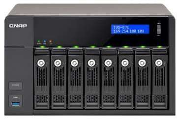 QNAP NAS TVS-871-I5-8G avec