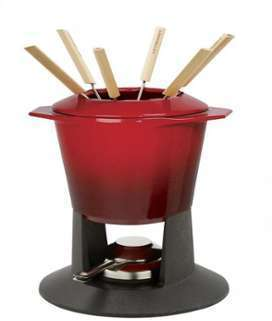 Gourmand - Fondue Set - cerise