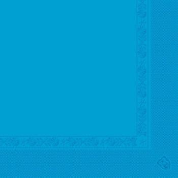 Serviette bleu turquoise en