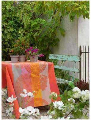 4 serviettes 58 58 Fleurs