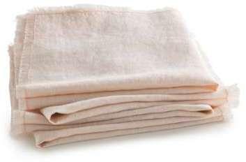 Serviette de table lin lavé