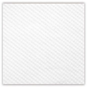 Serviette blanche en papier