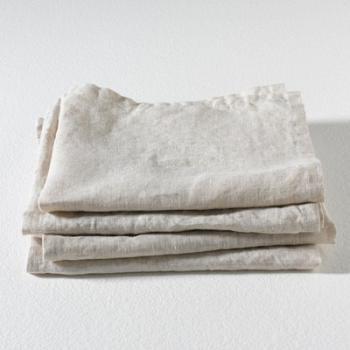 Serviettes de table pur lin