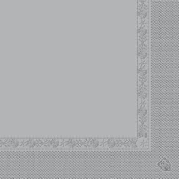 Serviette grise en papier