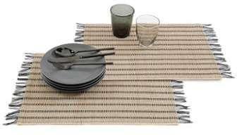Set de table en bambouà à