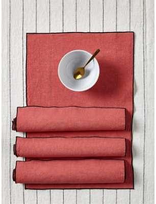 Set de table en lin coton