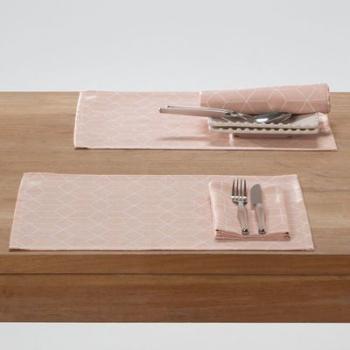 Set de table imprimé polycoton