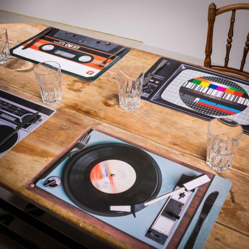 Sets de table Rétro 4 pièces