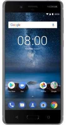 Smartphone Nokia 8 Acier