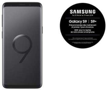 Samsung Galaxy S9 - Noir Carbone