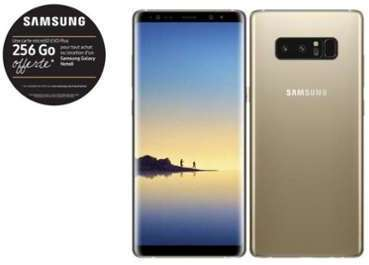 Samsung Galaxy Note 8 - Or