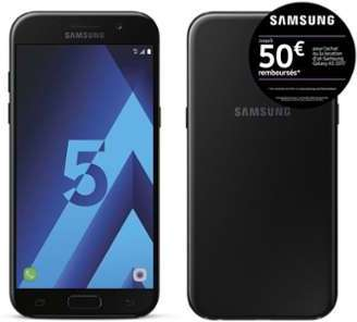 Samsung Galaxy A5 2017 - Noir